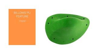 Video: BILLOWS PU FEATURE - Aesthetic, super comfy, ergonomic and positive jug