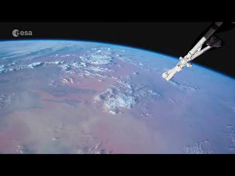 Africa and its colours, from the Space Station (time-lapse)
