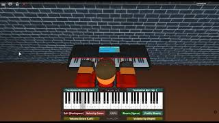 Evil Morty's Theme/For The Damaged Coda - Rick and Morty by: Blonde Redhead on a ROBLOX piano.