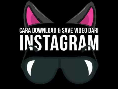 Cara Save (simpan) Foto atau Video dari Instagram ke Galeri dengan Instasave