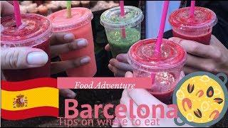 Food adventure: Barcelona