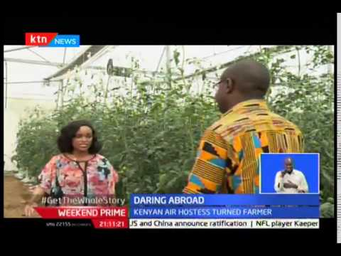 Daring Abroad: Kenyan Air hostess who quit to do farming in Ghana
