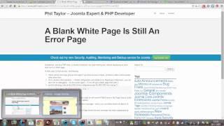 How to Turn on Error Reporting in Joomla