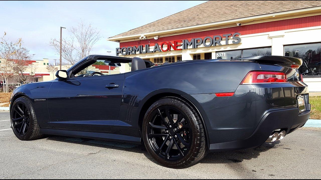 2014 Chevrolet Camaro ZL1 - For Sale - Formula One Imports Charlotte ...