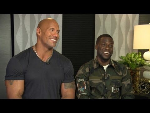 Kevin Hart & The Rock Funny Moments 2017 Compilation