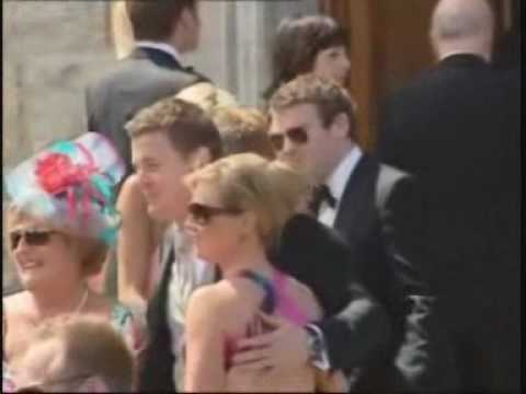 Brian and Amy O'Driscoll's wedding!