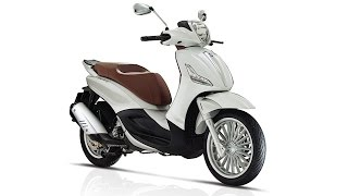 the piaggio beverly updated model range for 2017