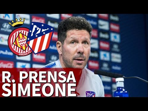 Girona-Atleti |Simeone, rueda de prensa en directo | Diario AS