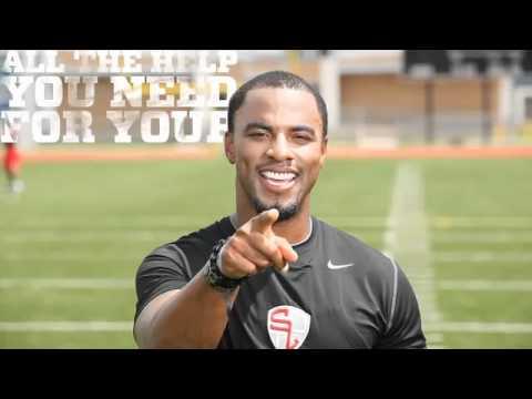 Darren Sharper - New Orleans Saints Strong Safety - Student Athlete Training