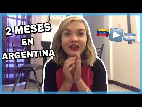 EXPERIENCIA DE UNA VENEZOLANA EN ARGENTINA - ¿En que he trabajado? Situación actual