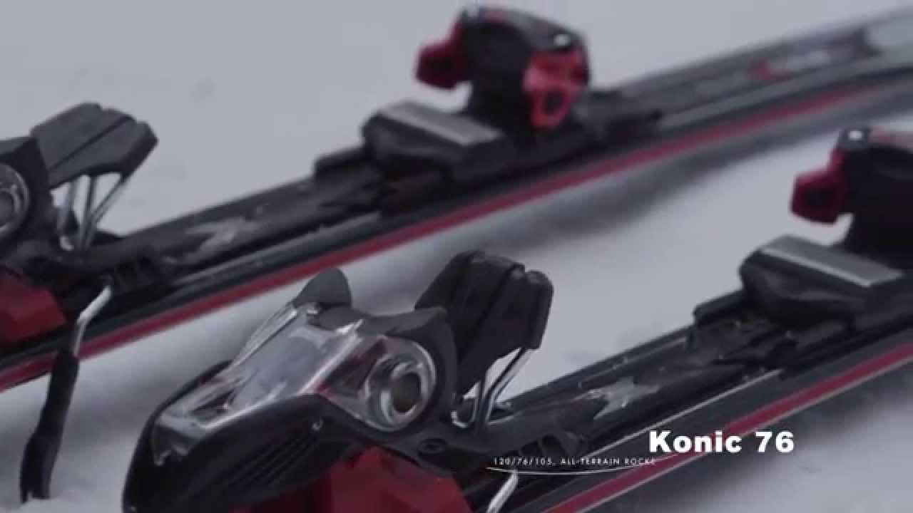 K2 Herren Skier Konic 76 inkl Bindung Photon M2