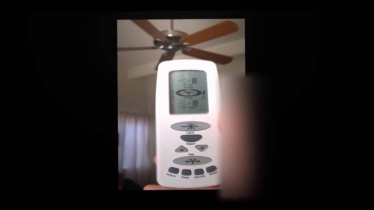 Emerson Ceiling Fan Remote Control Issues