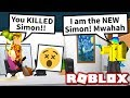 YOUTUBER ONLY SIMON SAYS in MURDER MYSTERY 2... GONE WRONG!! (Roblox)
