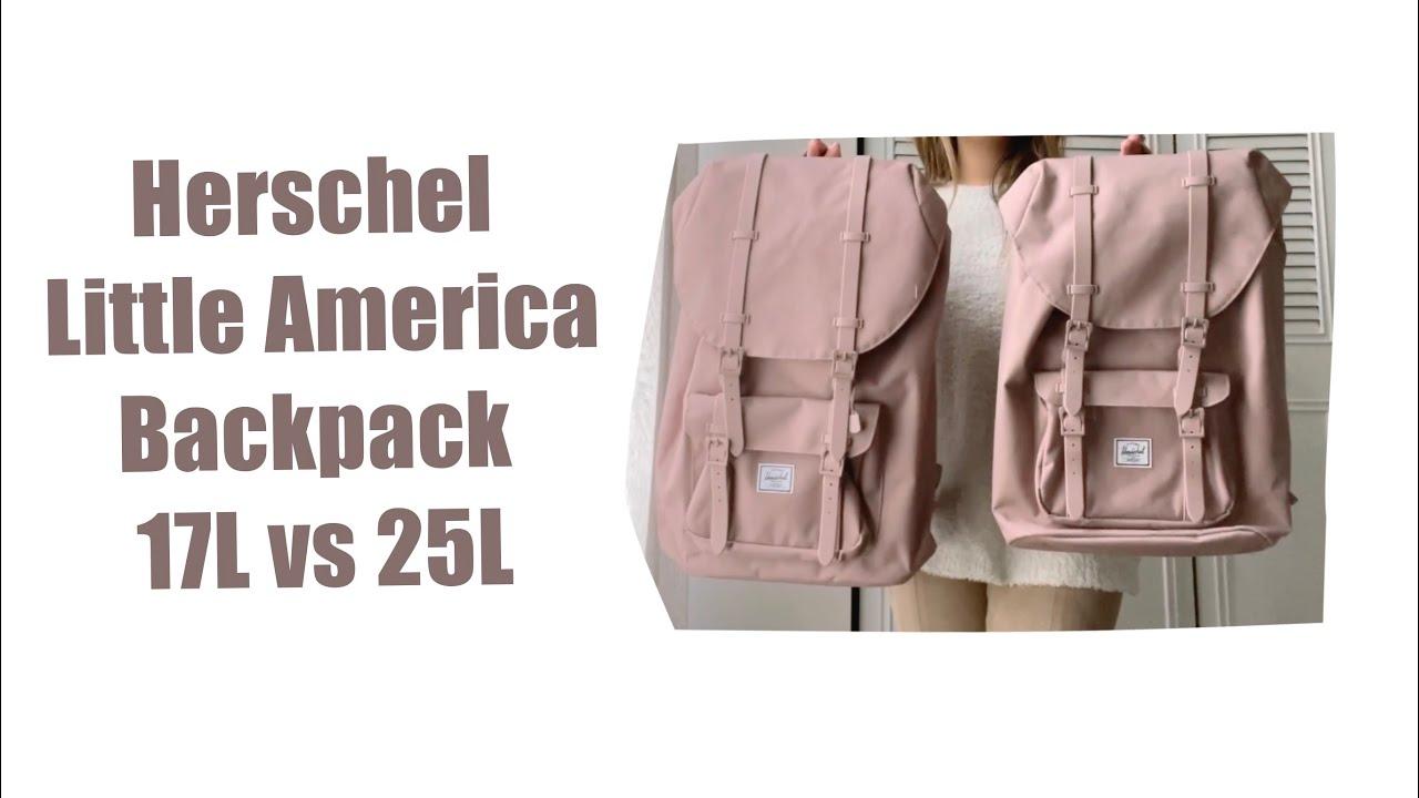Herschel Little America Ash Rose -Mid Volume \u0026 Classic