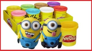 Play Doh Minions Toys || Create Two Complete Minions || Funny Minions Kids Toy