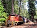 [HD] A Ride on the Skunk Train, Fort Bragg to Northspur, Nov 3 2013