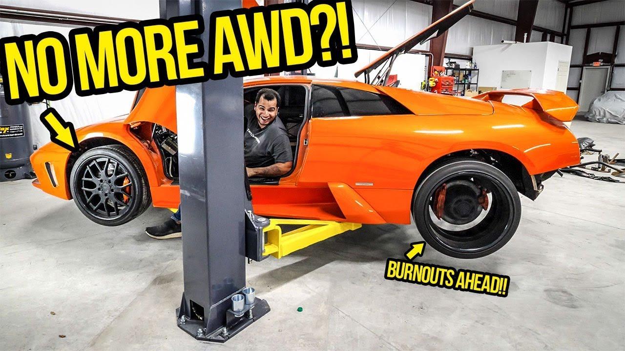 I Transformed My Fast & Furious Lamborghini Into A SAVAGE LIGHTWEIGHT BEAST! (NO MORE AWD!!)