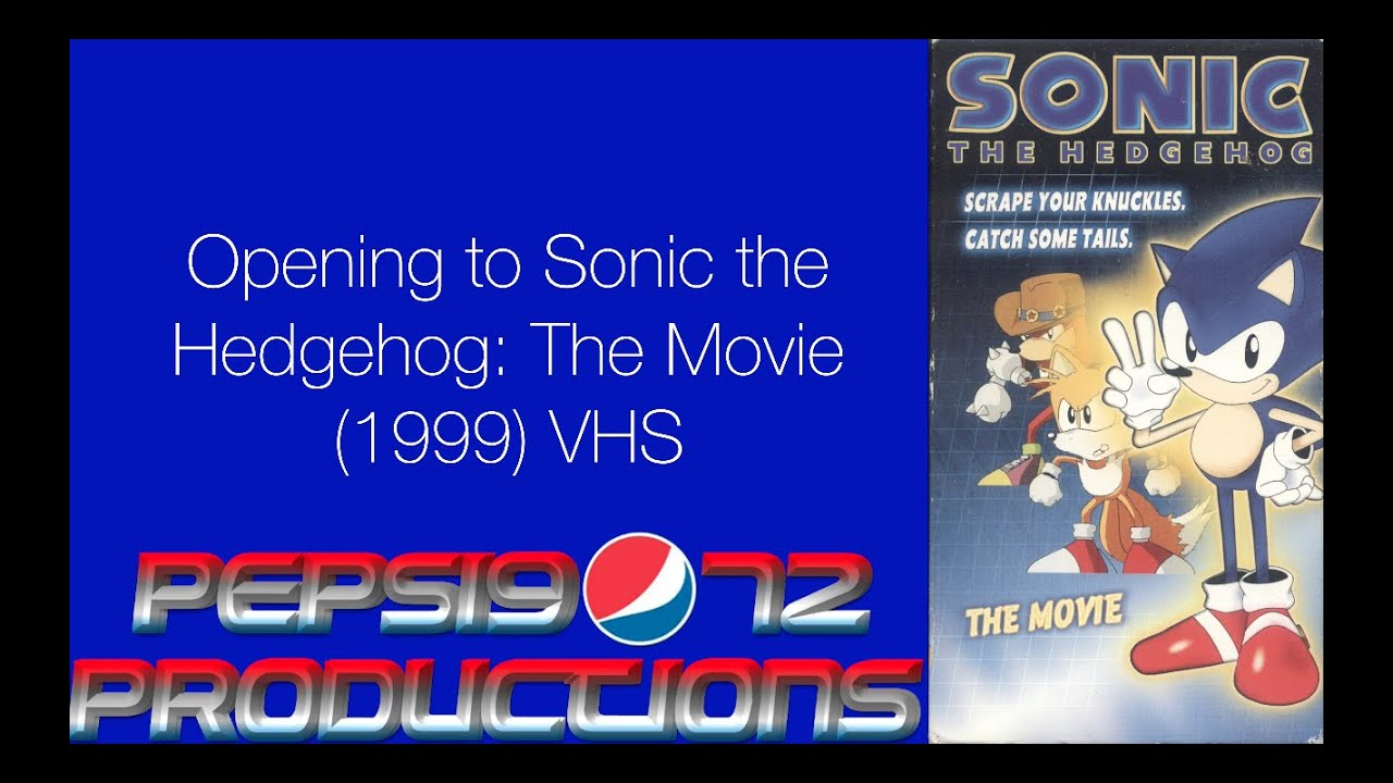 Opening To Sonic The Hedgehog The Movie 1999 Vhs Youtube