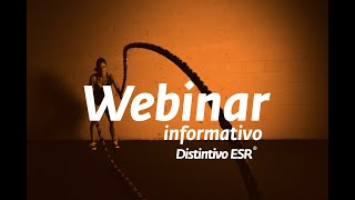 Webinar Informativo Distintivo ESR Ecuador.