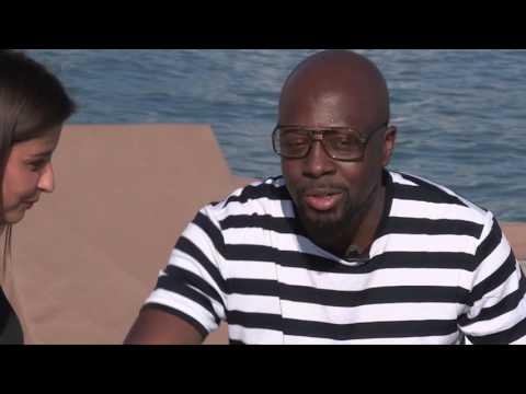 #Cannes2016 : Coup de projecteur avec Wyclef Jean et Malika Ménard