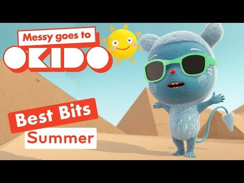 Messy Goes To Okido - Summer Best Bits | Cartoons For Children | Cbeebies