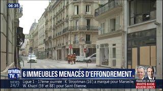 6 immeubles menacent de s'effondrer après l'explosion rue de Trévise à Paris