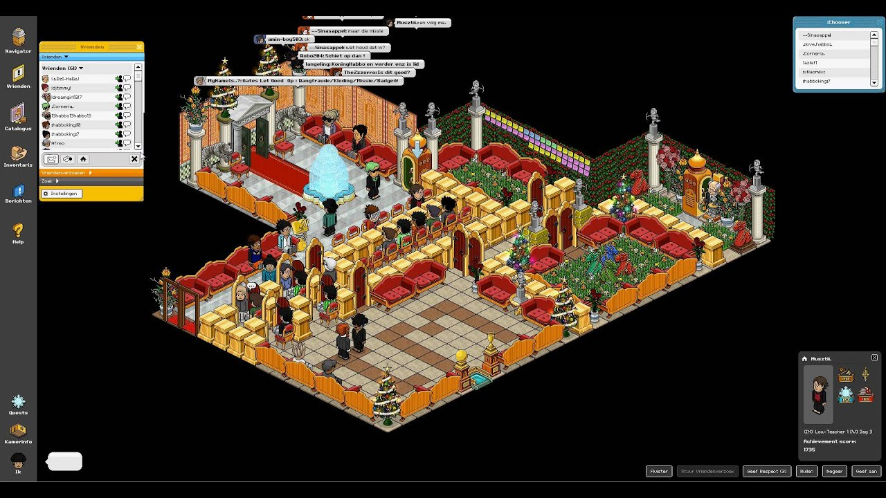 habbo how to get duckets