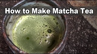 How to Make Matcha Tea - Dr. Jim Nicolai