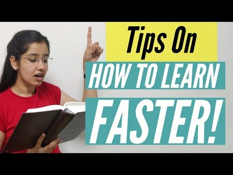 Best Tips on How to Learn Faster   In Hindi
