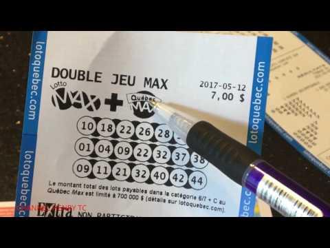 XỔ SỐ ĐIỆN TOÁN CANADA :MONTREAL LOTO MAX 50TR ĐÔ LA...