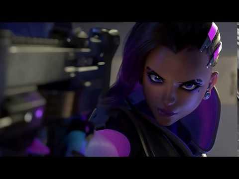 """[Overwatch] Sombra's """"Boop"""" Voice Line"""
