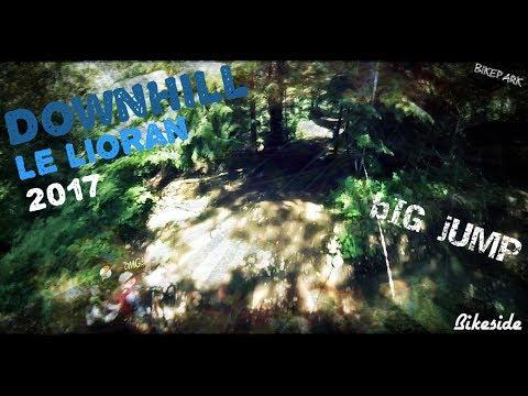 [DH] Descente & JUMP lioran free bikepark