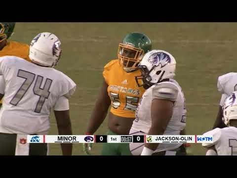 Minor @ Jackson-Olin WOTM High School Football GOW  09-05-2019