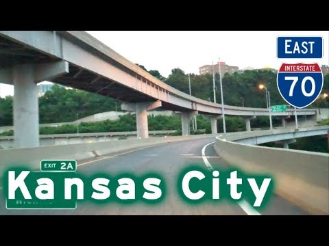 I-70 East thru Kansas City