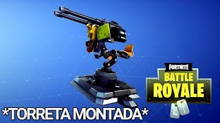 🔴 *MOUNTED TORRETA* *NEW WEAPON* will soon arrive at FORTNITE Battle Royale + New *SKIN*