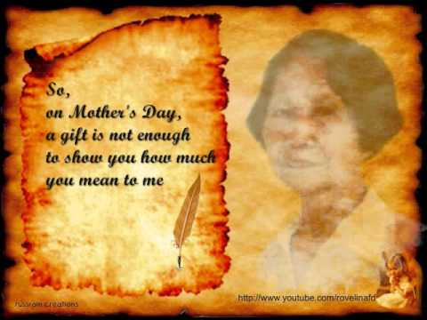 A Letter to My Mother Dear Nanay