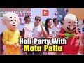 Karanvir Bohra & Other Tv Celebs Celebrates Holi With Their Kids | Motu Patlu