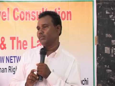 Human Rights & the Law Ranchi 14-15 July 2012 Part 14