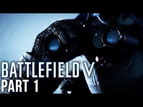 Battlefield 5 Exclusive Gameplay Walkthrough Part 1 - NORDLEYS (First 10 Minutes)