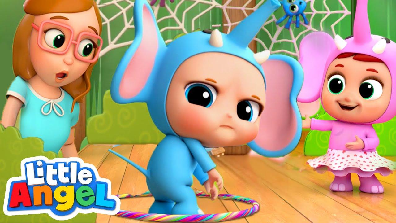 10 Little Elephants Elephant Song Nursery Rhyme Amp Kids