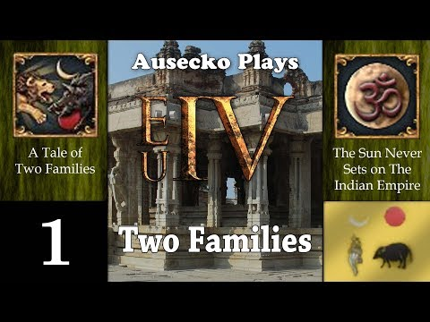 EUIV Two Families 1 [The Sun Never Sets on Two Families]