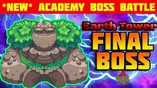 I DEFEATED the FINAL BOSS of the ACADEMY EARTH TOWER | Prodigy Math Game