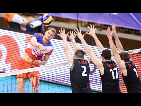 TOP 10 Crazy Actions by Drazen Luburic | World League 2017 | Serbia Volleyball