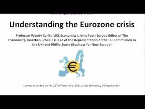 Understanding the Eurozone Crisis