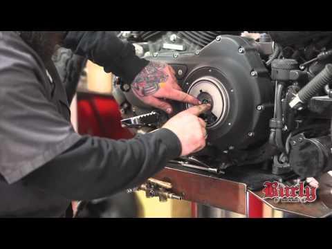 Burly Brand Narrow Bottom Apehanger and cable kit install
