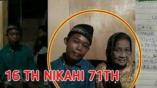 NEKAT! REMAJA UMUR 16 TAHUN INI NIKAHI NENEK 71 TAHUN DAN SEMPAT LAKUKAN...