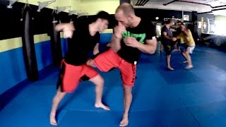 MMA Trainings-Einblick - Flying Uwe & Ismail Cetinkaya