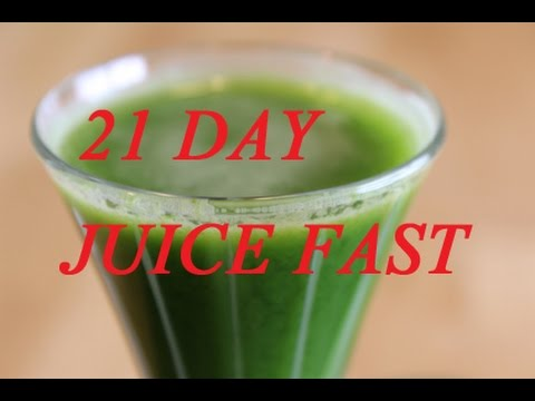 Juice Fast Results 21 Day Before & After Weight Loss