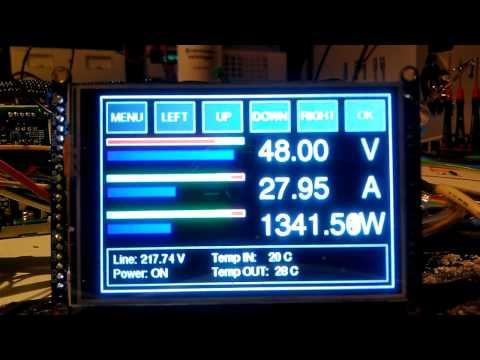 Netzteil Test HP ESP120 Server PSU Mit Display