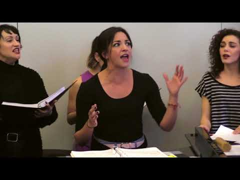 Ana Villafañe & cast performs 'Breathe' from In the Heights in rehearsal (Full Video)